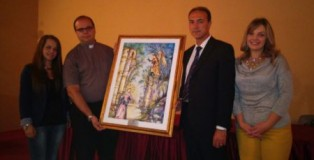 giannetta dona quadro a diocesi