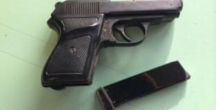 pistola trovata a siderno
