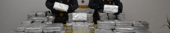 Sequestrati 390 kg di cocaina purissima al porto di Gioia Tauro