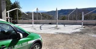 Controlli e sequestri del Corpo forestale in azienda agrozootecnica a Carolei