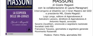 """""""Massoni"""" il libro di Gioele Magaldi presentato a Taurianova"""