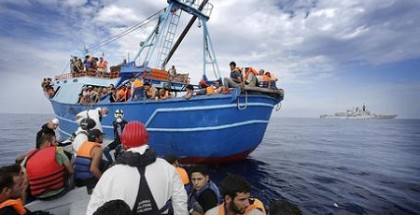 Immigrazione: barcone migranti provenienti dalla Siria