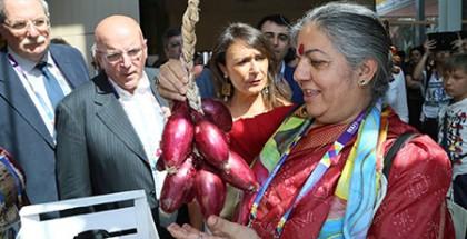 Vandana Shiva - Padiglione Calabria Expo