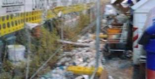 spazzatura in via giuliani a lamezia