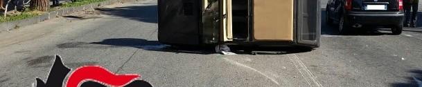 Reggio, sperona con l'auto il cognato su viale Calabria: arrestato