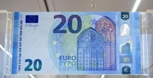 nuova banconota venti euro