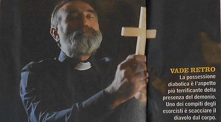 """Su """"Miracoli"""" l'identikit del posseduto Domenico Caruso affronta il tema degli esorcismi nel prossimo numero della rivista """"Miracoli"""""""