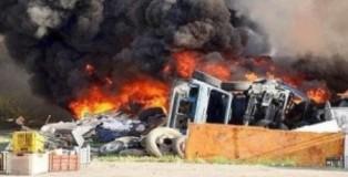 combustione rifiuti
