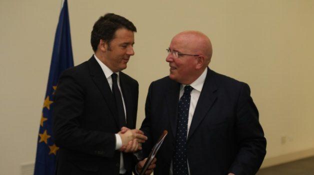 Renzi a Reggio Calabria inaugura la riapertura del Museo