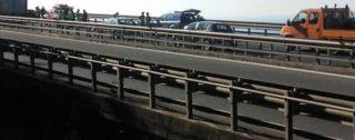 Donna si lancia da un viadotto sulla Salerno-Reggio Calabria