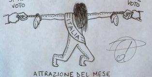 vignetta italia al voto