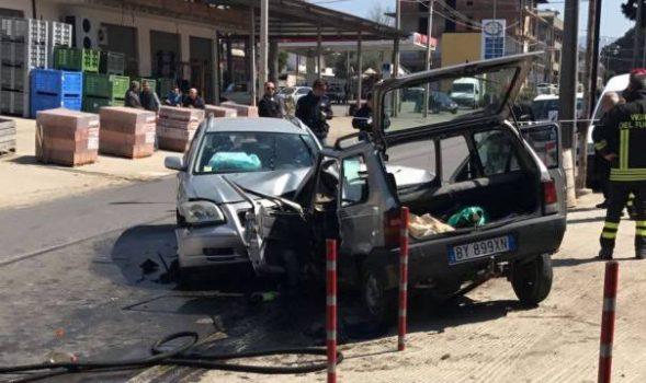Taurianova, grave incidente sulla I Circonvallazione: 2 feriti