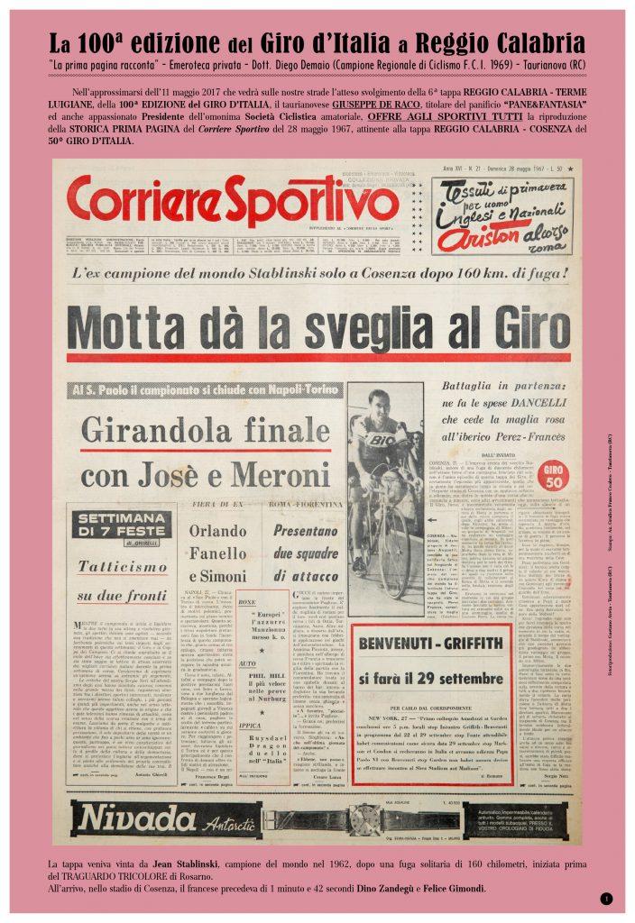 100ª Edizione Giro d'Italia