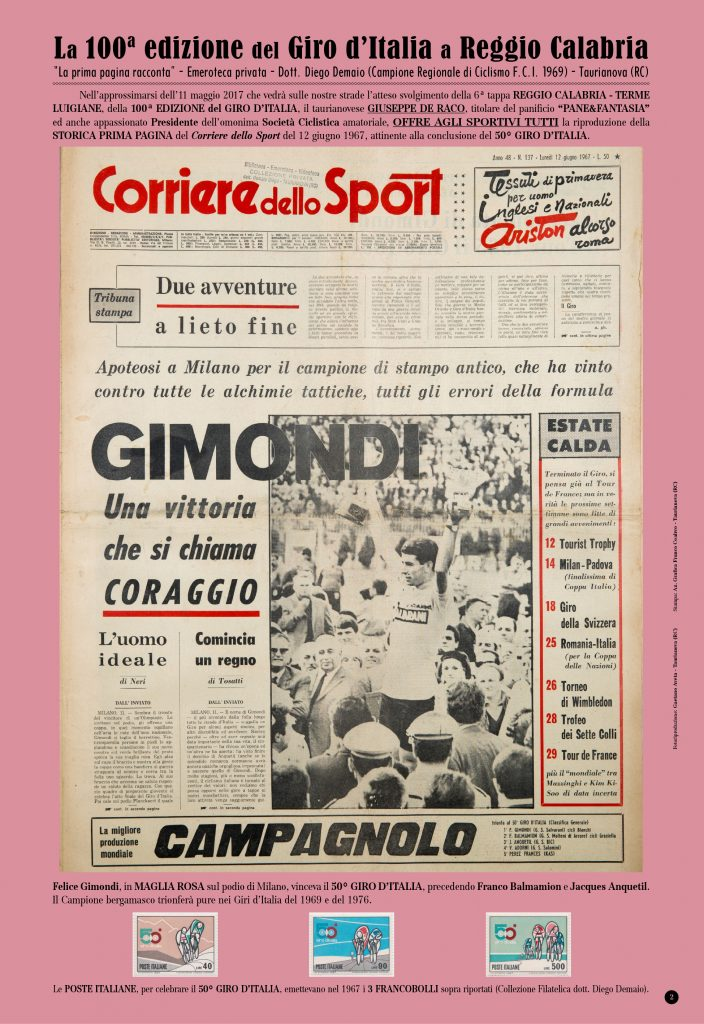 100ª Edizione Giro d'Italia2