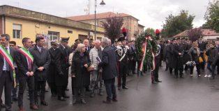 Momento della commemorazione