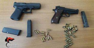 Carabinieri Reggio sequestrano armi