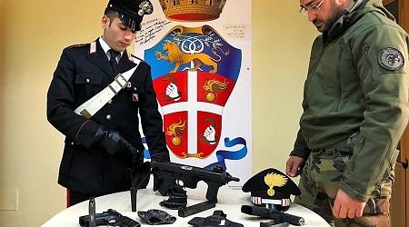 Arsenale in un ovile, arrestato giovane incensurato Il 21enne è stato associato presso la Casa Circondariale di Palmi